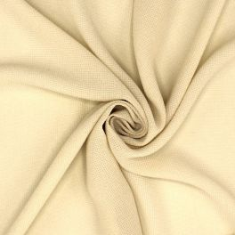 Apperel fabric in viscose - ecru