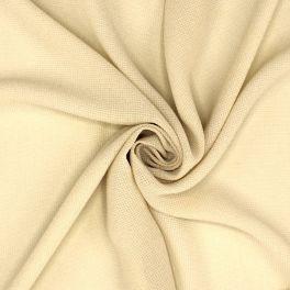 Tissu vestimentaire en viscose écru
