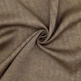 Black linnen plain fabric
