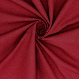 Cretonne - plain grenadine red