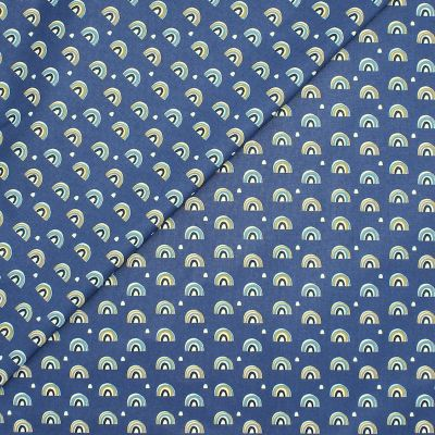 Coated cotton with prints