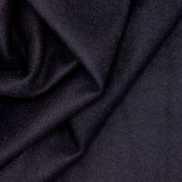 Apparel fabric in wool - midnight blue