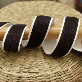 Velcro crochet  adhésif noir