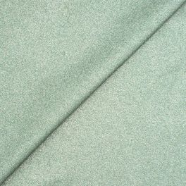 Coated cotton - plain metallic green