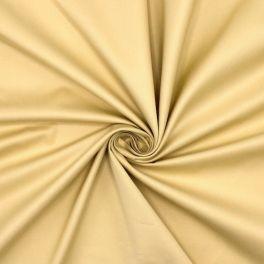 Coton sergé extensible vanille