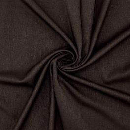 Extensible fabric with twill weave - cachou