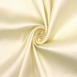 Satin of cotton - cream