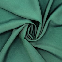 Fabric in viscose and polyester - green