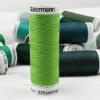 Green sewing thread Gütermann 336