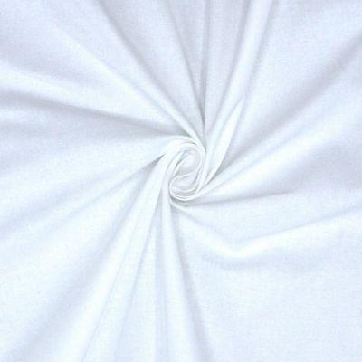 100% cotton - white