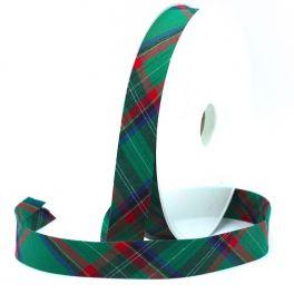 Biais écossais vert de 20mm