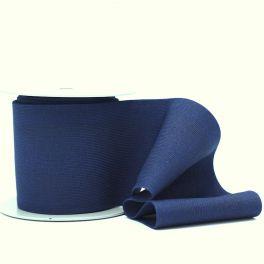 Elastiek van 10cm - marineblauw