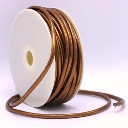 Faux leather strap - copper