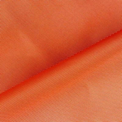 Orange impermeable polyester fabric