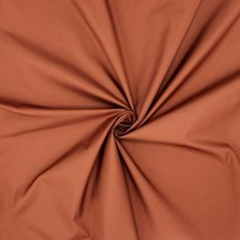 Windproof fabric in polyester - brown