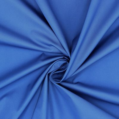 Windproof fabric in polyester - blue
