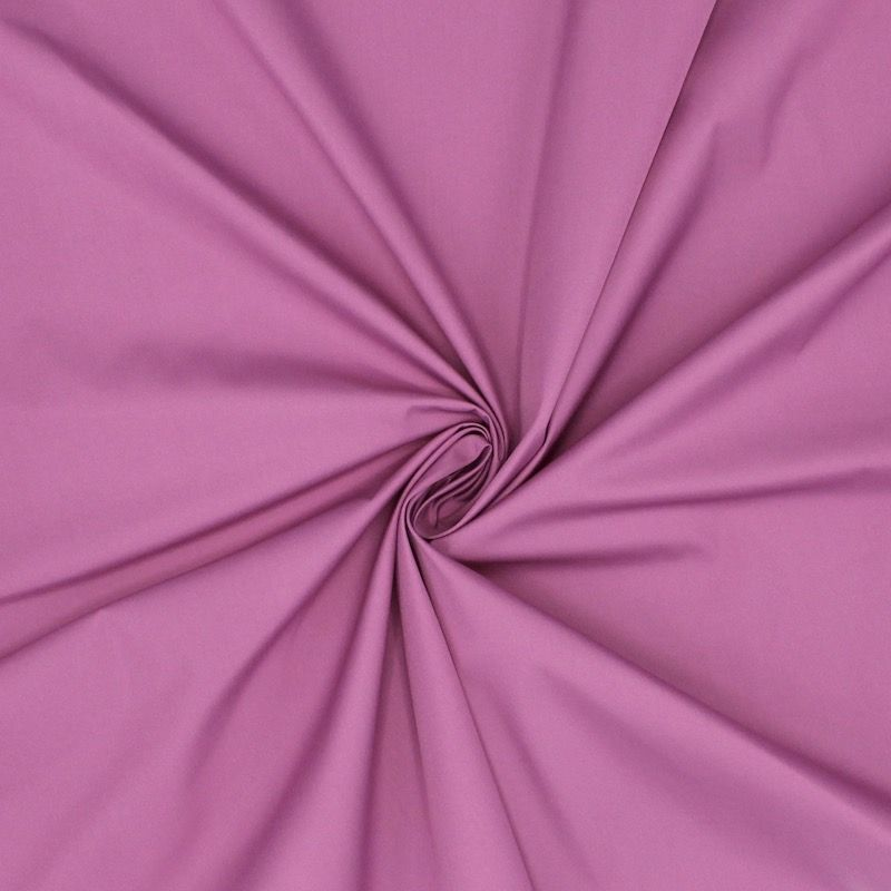 Windproof fabric in polyester - purple