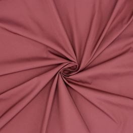 Windproof fabric in polyester - burgondy