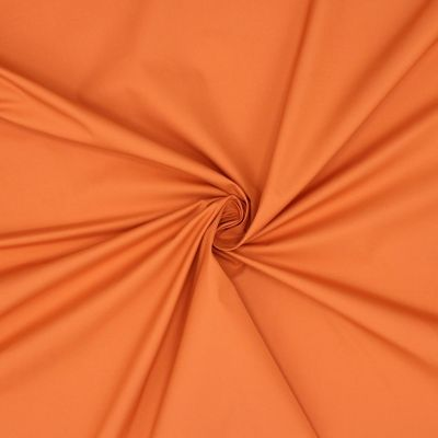 Windproof fabric in polyester - orange