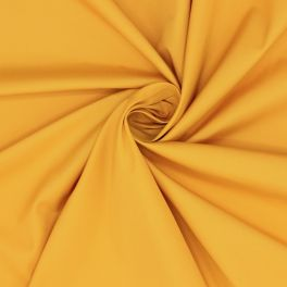 Windproof fabric in polyester - yellow