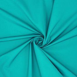 Winddichte stof in polyester - eendblauw