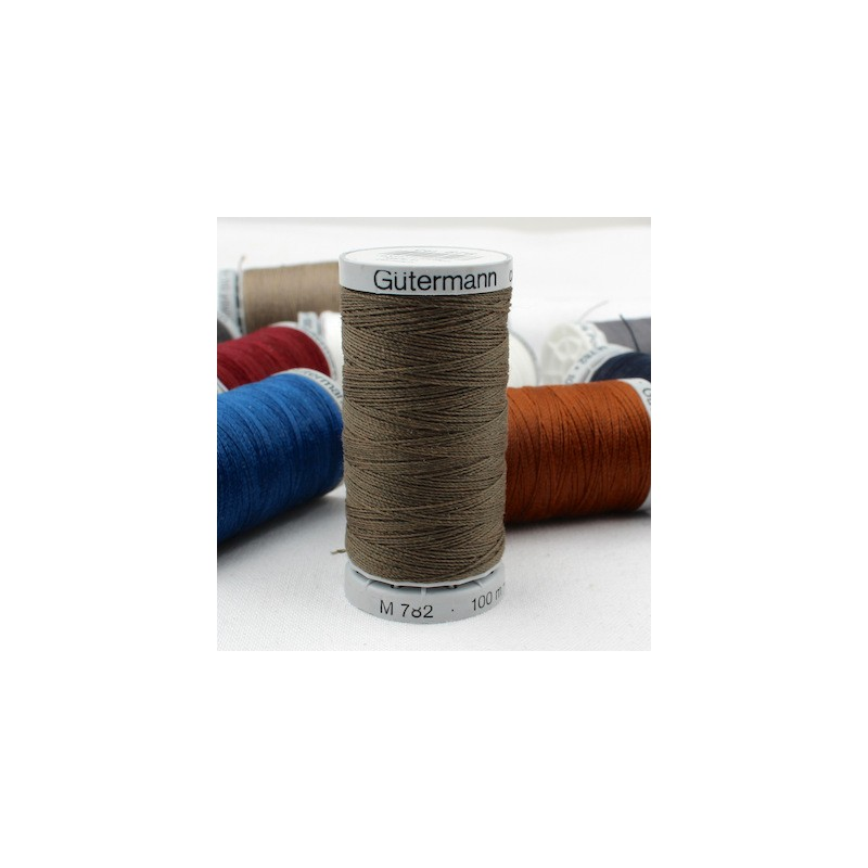 Brown Extra Strong sewing thread