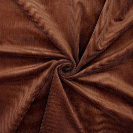 Needlecord fabric - brown