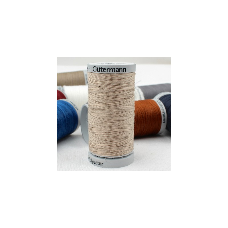 Beige Extra Strong sewing thread