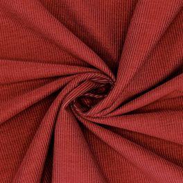 Needlecord fabric - garnet