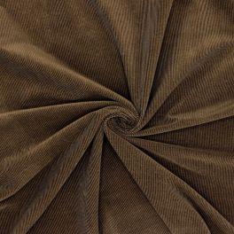 Needlecord fabric - chocolat