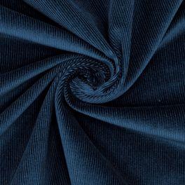 Needlecord fabric - blue