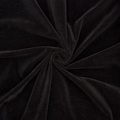 Velours milleraies noir