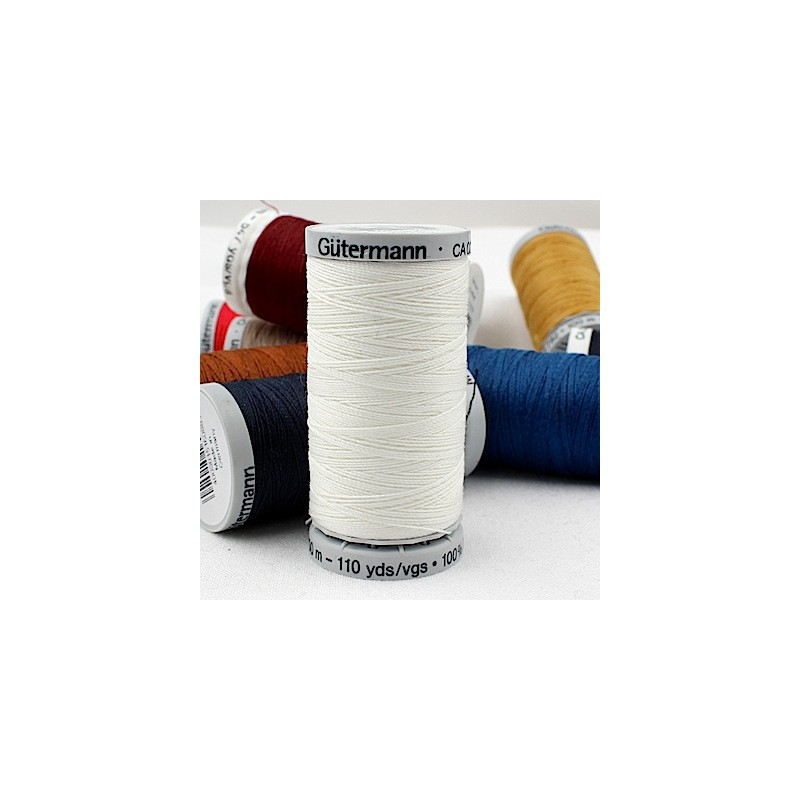 White Extra Strong sewing thread