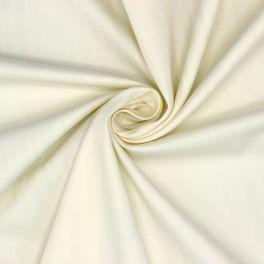 Rekbare stof met chevron strepen - ecru