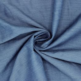 Apparel fabric - denim blue