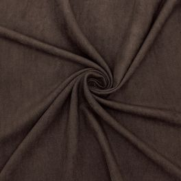 Polyester fabric type suede