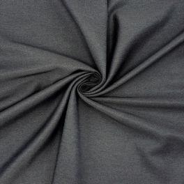 Twill en polyester et viscose anthracite
