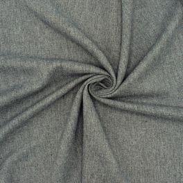Light twill fabric in viscose - grey
