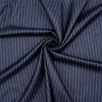 Stof 100% wol met strepen
