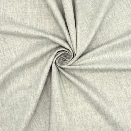 Twill extensible gris chiné