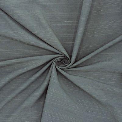 Tissu jacquard gris à rayures