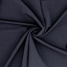 Extensible twill fabric - navy blue
