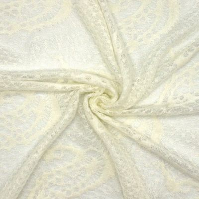 Knit fabric - off white