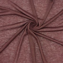 Tissu jersey léger brun