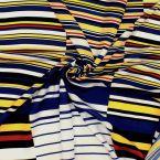 Panneau de tissu viscose à rayures