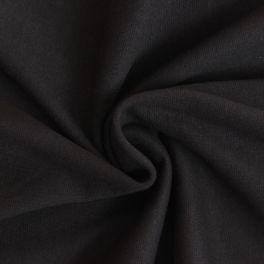 Bord côte uni noir