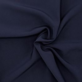 Extensible fabric - navy blue