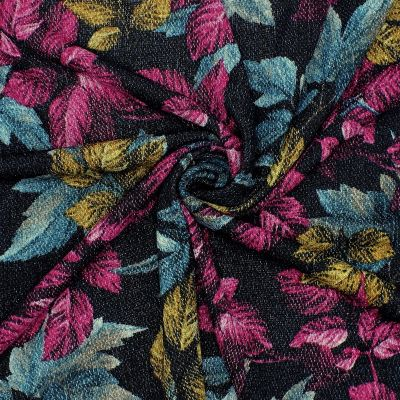 Printed knit fabric in polyester