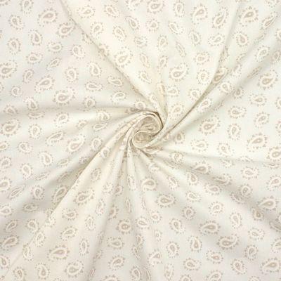 Tissu en coton sergé imprimé