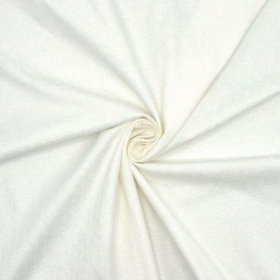 Rekbare jacquard - gebroken wit